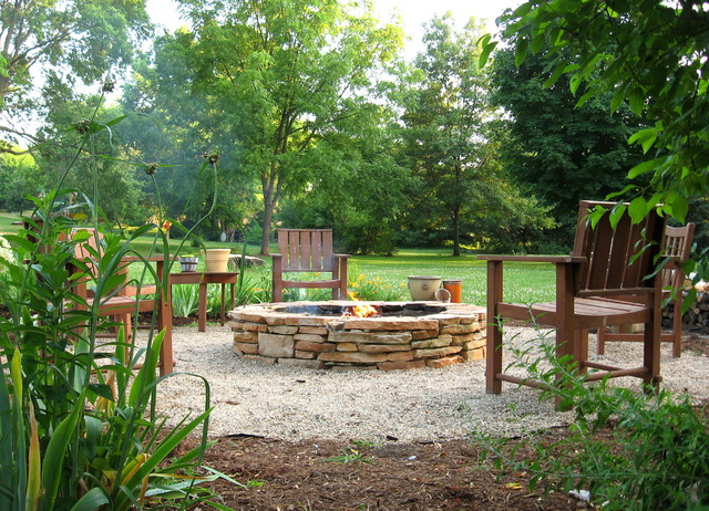 Backyard Fire Pit Ideas Landscape Contemporary with Charming Diy Fire Pit