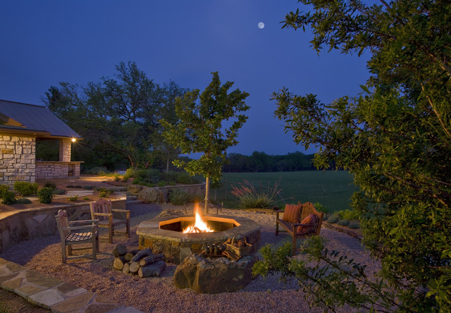 backyard fire pit ideas Landscape Traditional with backyard fire pit garden