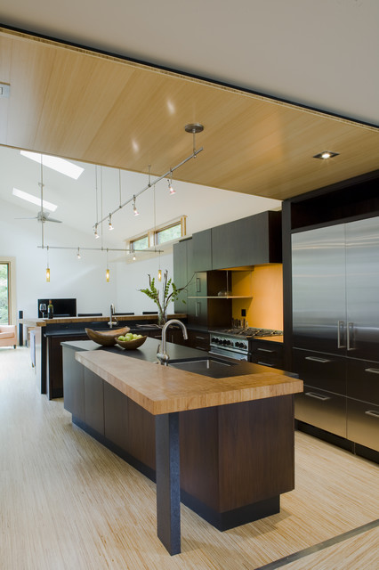 Bamboo Countertops Kitchen Contemporary with Asian Bamboo Bamboo Ceiling