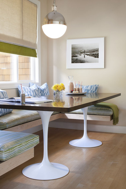 Banquette Bench Kitchen Contemporary with Banquette Baseboards Breakfast Book