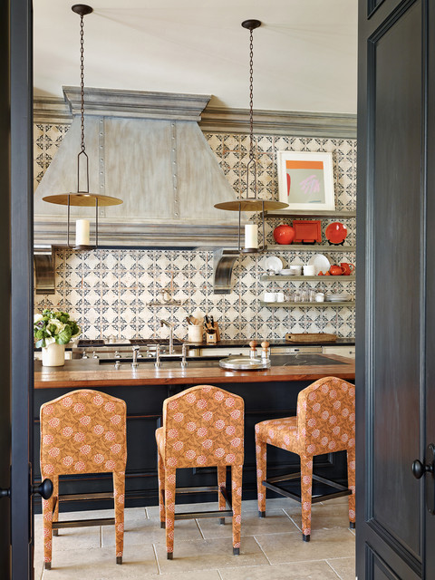 Bar Stools Walmart Kitchen Mediterranean with Beige Floor Tile Camelback