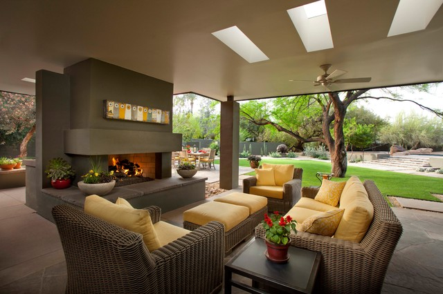 Bassett Furniture Reviews Patio Contemporary with Artwork Ceiling Fan Covered