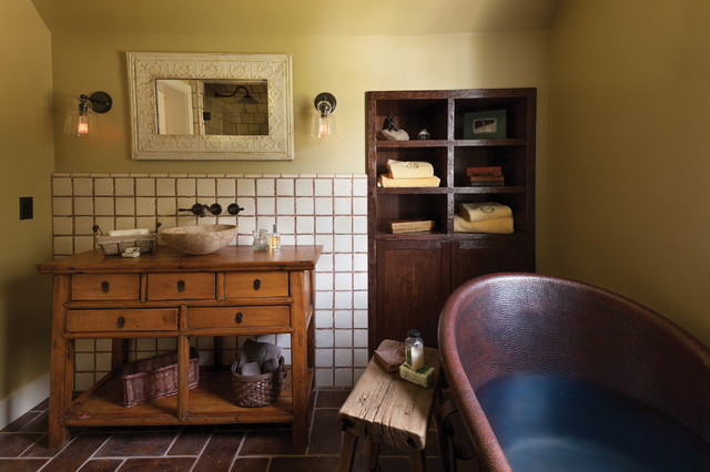 Bathroom Vessel Sinks Bathroom Farmhouse with Bathroom Stool Built in Shelves