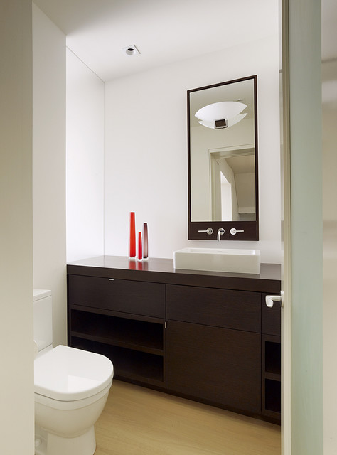 Bathroom Vessel Sinks Bathroom Modern with Accent Colors Bathroom Mirror