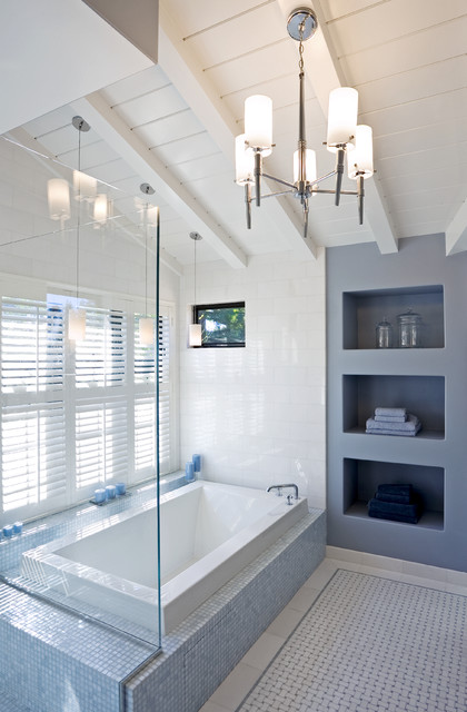bathtub dimensions Bathroom Modern with Alcoves chandelier glass panel