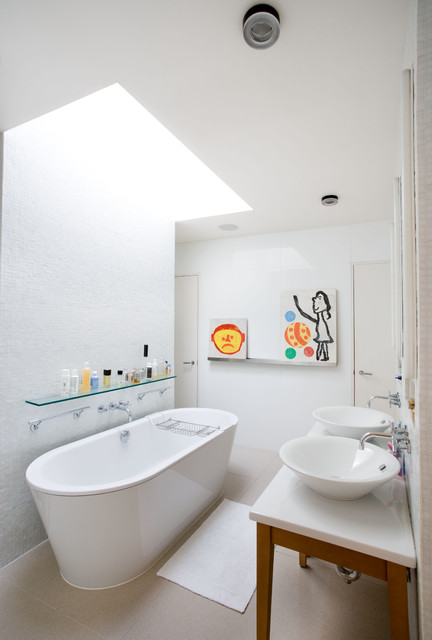 Bathtub Mat Bathroom Contemporary with Bath Mat Ceiling Lighting