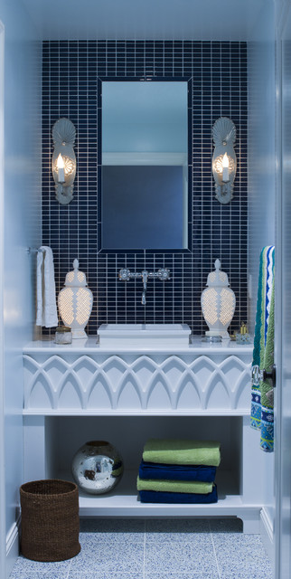 Battery Operated Wall Sconces Bathroom Eclectic with Aquatic Asid Bathroom Blue