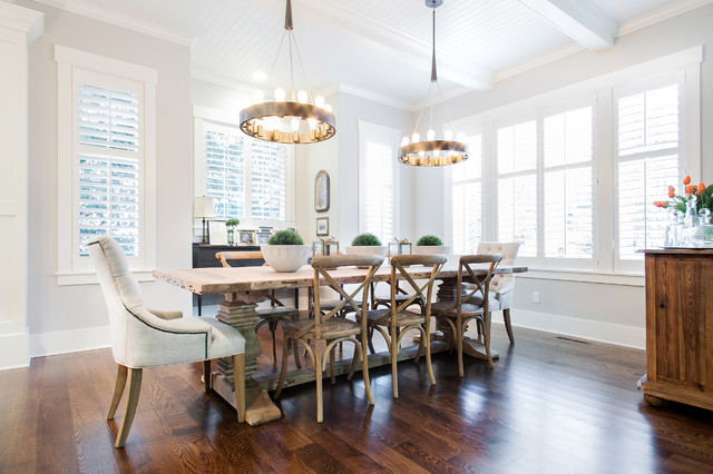 Bentwood Chairs Dining Room Transitional with Beadboard Ceiling Bentwood Chair