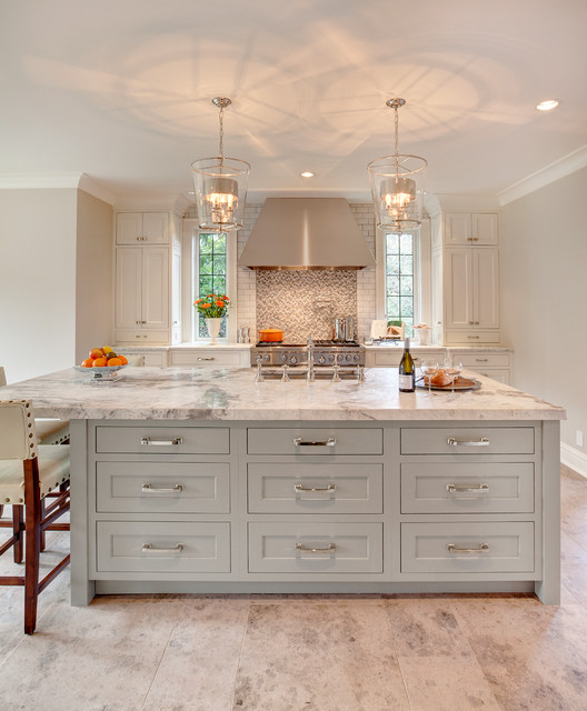 Berenson Hardware Kitchen Transitional with Dura Supreme Pendant Lights