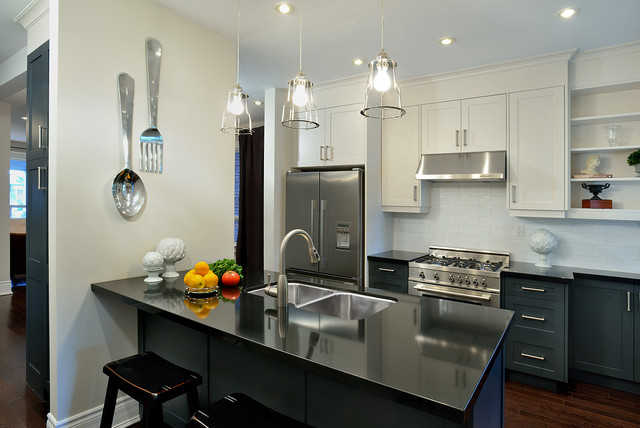 Bertazzoni Range Kitchen Contemporary with Ceasarstone Contemporary Evelyn Eshun