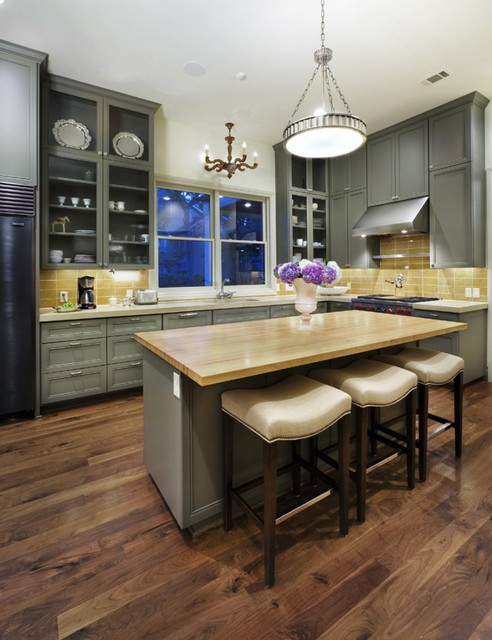 Best Mop for Hardwood Floors Kitchen Traditional with Bowl Chandelier Breakfast Bar