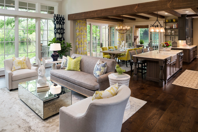 Best Mop for Hardwood Floors Living Room Traditional with Dark Wood Kitchen Eclectic