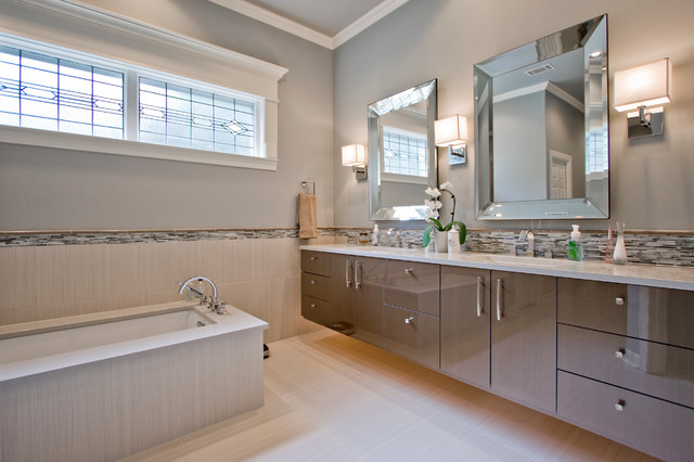 Beveled Mirror Bathroom Contemporary with Bathroom Beveled Mirror Beveled