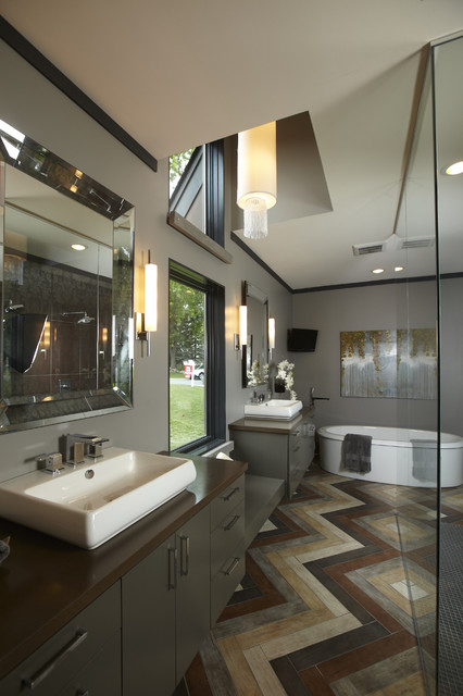 Beveled Mirror Bathroom Contemporary with Bathroom Mirror Beveled Mirror