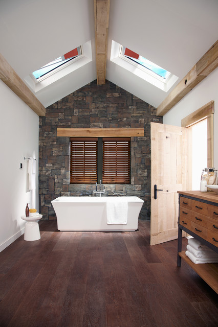 Blackout Blinds Bathroom Rustic with Categorybathroomstylerusticlocationcharlotte