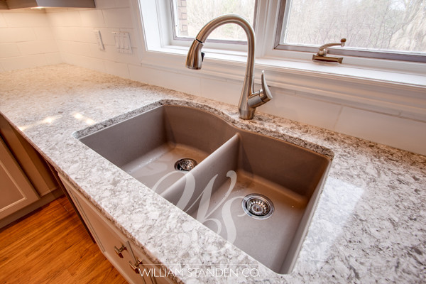 blanco silgranit Kitchen Traditional with cabinets countertops Custom Cabinets