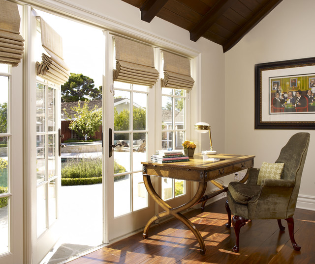 Blinds for French Doors Home Office Traditional with Cape Cod Chair Cottage