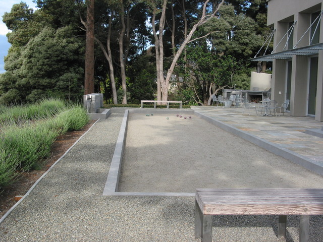 Bocce Ball Court Landscape Contemporary with Categorylandscapestylecontemporarylocationsan Francisco 1