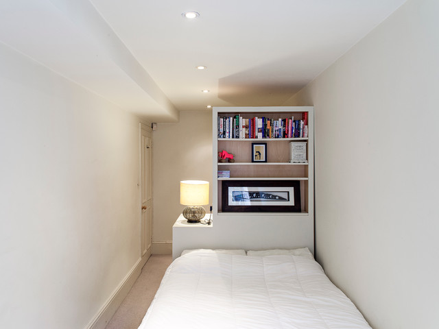 Bookcase Headboard Bedroom Contemporary with 7 Year Old Boys