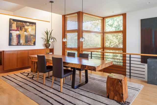 Bookcase Room Dividers Dining Room Modern with Built in Case Study