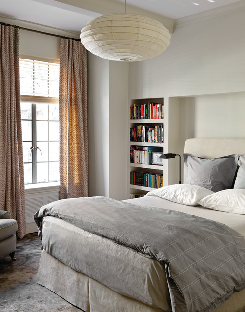 Bookshelf Headboard Bedroom Modern with Alcove Bedding Bedroom Built In