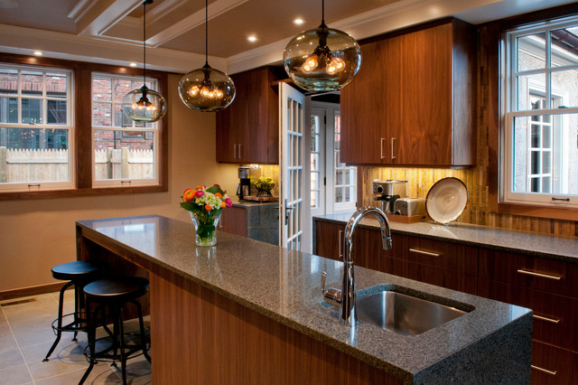 boston granite exchange Kitchen Contemporary with entry to mudroom glass
