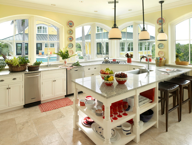 Boston Granite Exchange Kitchen Tropical with Abaco Abaco Club Arch
