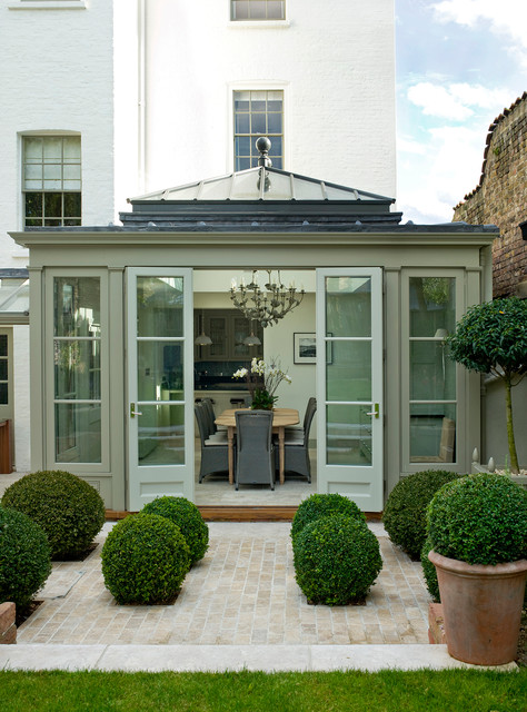Boxwood Shrubs Sunroom Contemporary with Box Hedges Box Hedging