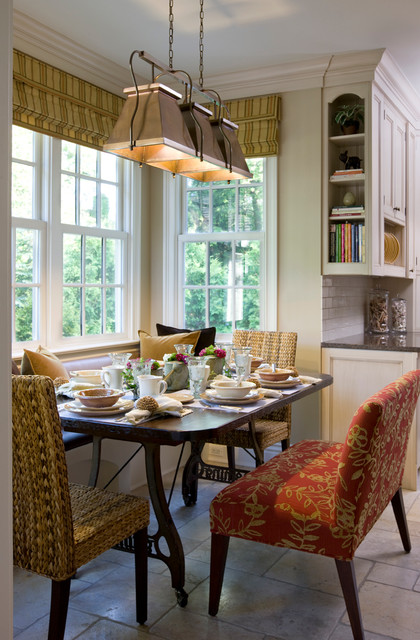 Breakfast Nook Bench Kitchen Traditional with Bay Window Bench Seat