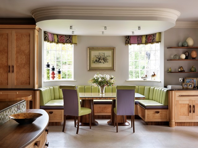 Breakfast Nook Furniture Dining Room Eclectic with Banquette Seating Bench Breakfast