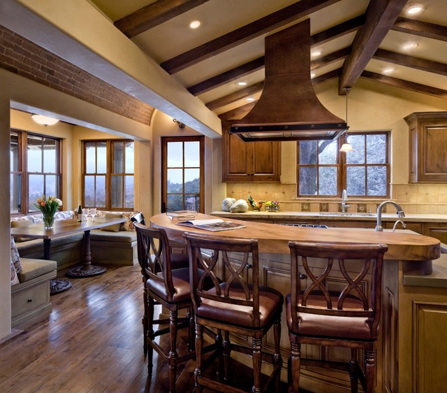 Breakfast Nook Furniture Kitchen Rustic with Bar Stool Beam Bench