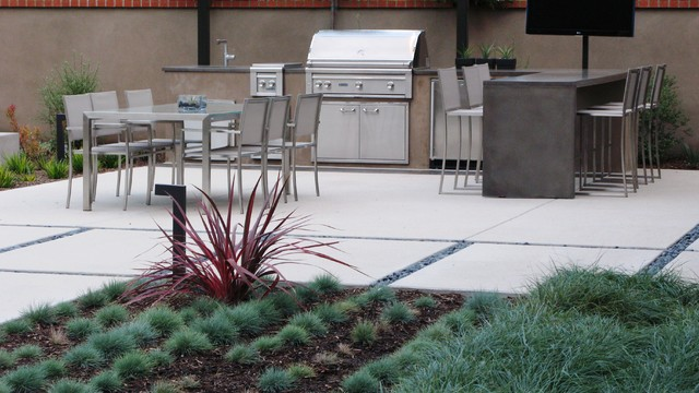 Breville Pizza Maker Patio Contemporary with Al Fresco Bar Stools