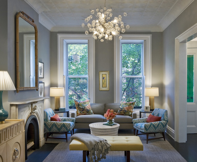 Brownstone Furniture Living Room Transitional with Bamboo Mirror Bench Brownstone