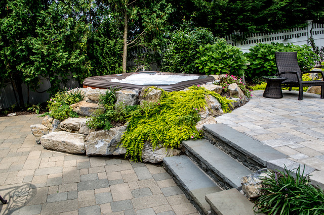 Bullfrog Spas Patio Traditional with Categorypatiostyletraditionallocationnew York