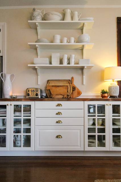 Butcher Block Countertop Kitchen Traditional with My Houzz