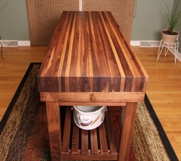 Butcher Block Kitchen Cart Kitchen Craftsman with Butcher Block Chiefs Custom