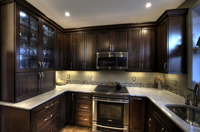 Cabinet Refacing Cost Kitchen Traditional with Accent Tile Beige Beverage
