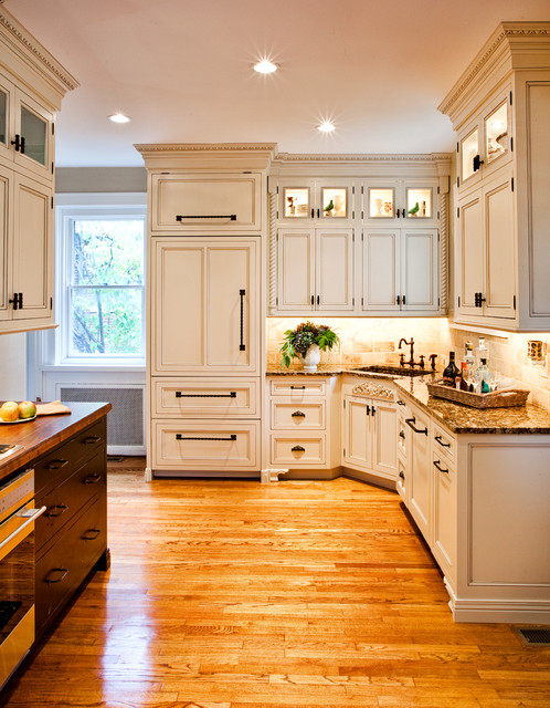 Cabinet Refacing Cost Kitchen Traditional with Angled Sink Black Hardware