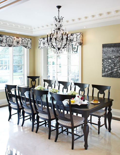 Canadel Furniture Dining Room Traditional with Beige Wall Black And