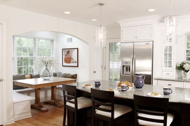 Canadel Furniture Kitchen Traditional with Archway Breakfast Bar Breakfast