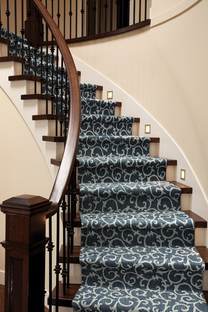 Carpet Runner for Stairs Staircase Contemporarywith Categorystaircasestylecontemporary
