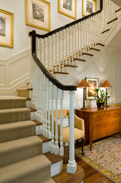 Carpet Runner for Stairs Staircase Traditional with Carpet Stair Runner Colonial
