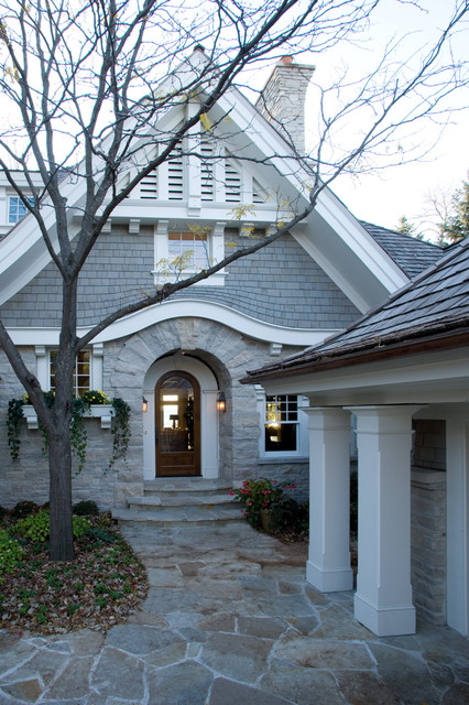 Certainteed Landmark Shingles Exterior Victorian with Attic Vent Curved Shingles