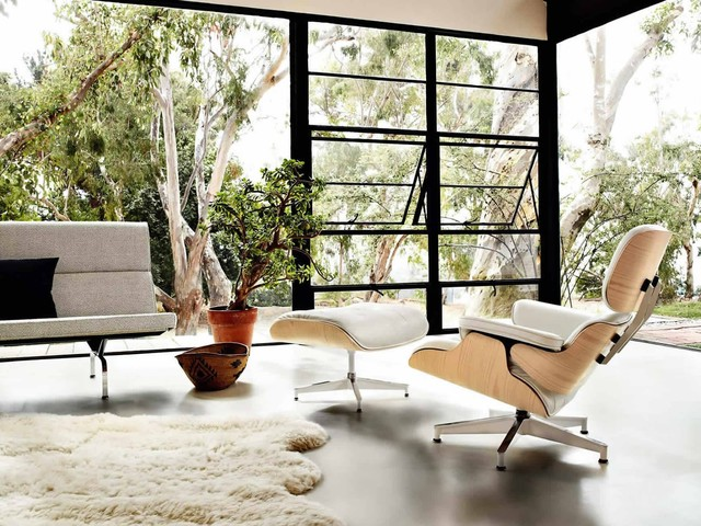 Chaise Lounge Ikea Living Room Midcentury with Charles Eames Chair Eames