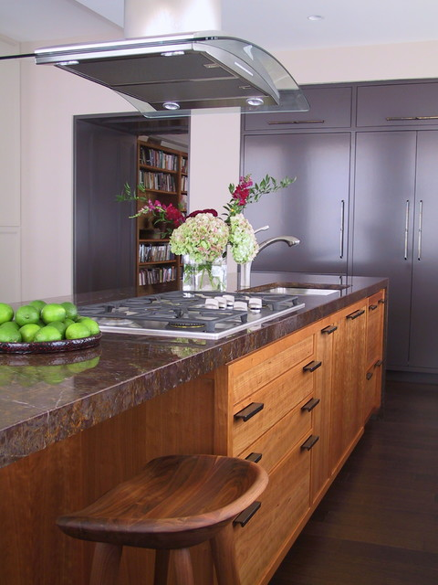 Chalk Paint Kitchen Cabinets Kitchen Transitional with Beige Wall Cherry Kitchen