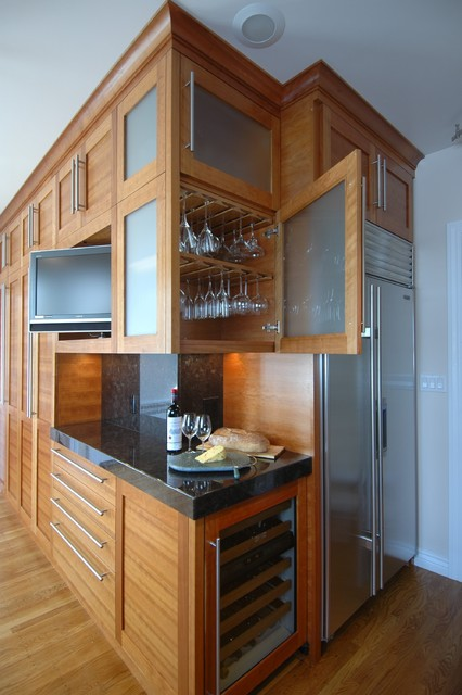 Champagne Flute Kitchen Contemporary with Contemporary Kitchen Noe Valley