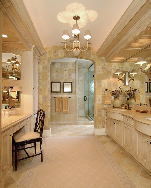 Chandelier Ceiling Fan Bathroom Beach with Cove Lighting Double Vanity