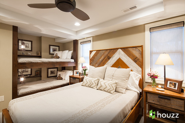 cheap queen bed frames Bedroom Rustic with bunk beds ceiling fan