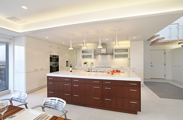 Chelsea Lumber Kitchen Contemporary with Ceiling Lighting Clean Lines