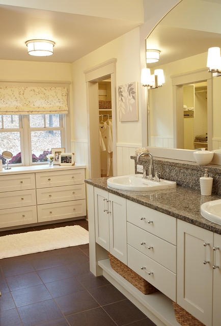 Chester Drawers Bathroom Farmhouse with Bathroom Storage Brown Floor